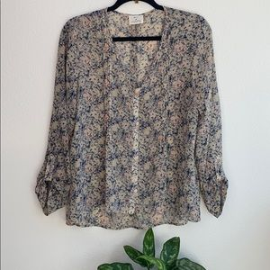 Anthropologie Pins and Needles Blouse